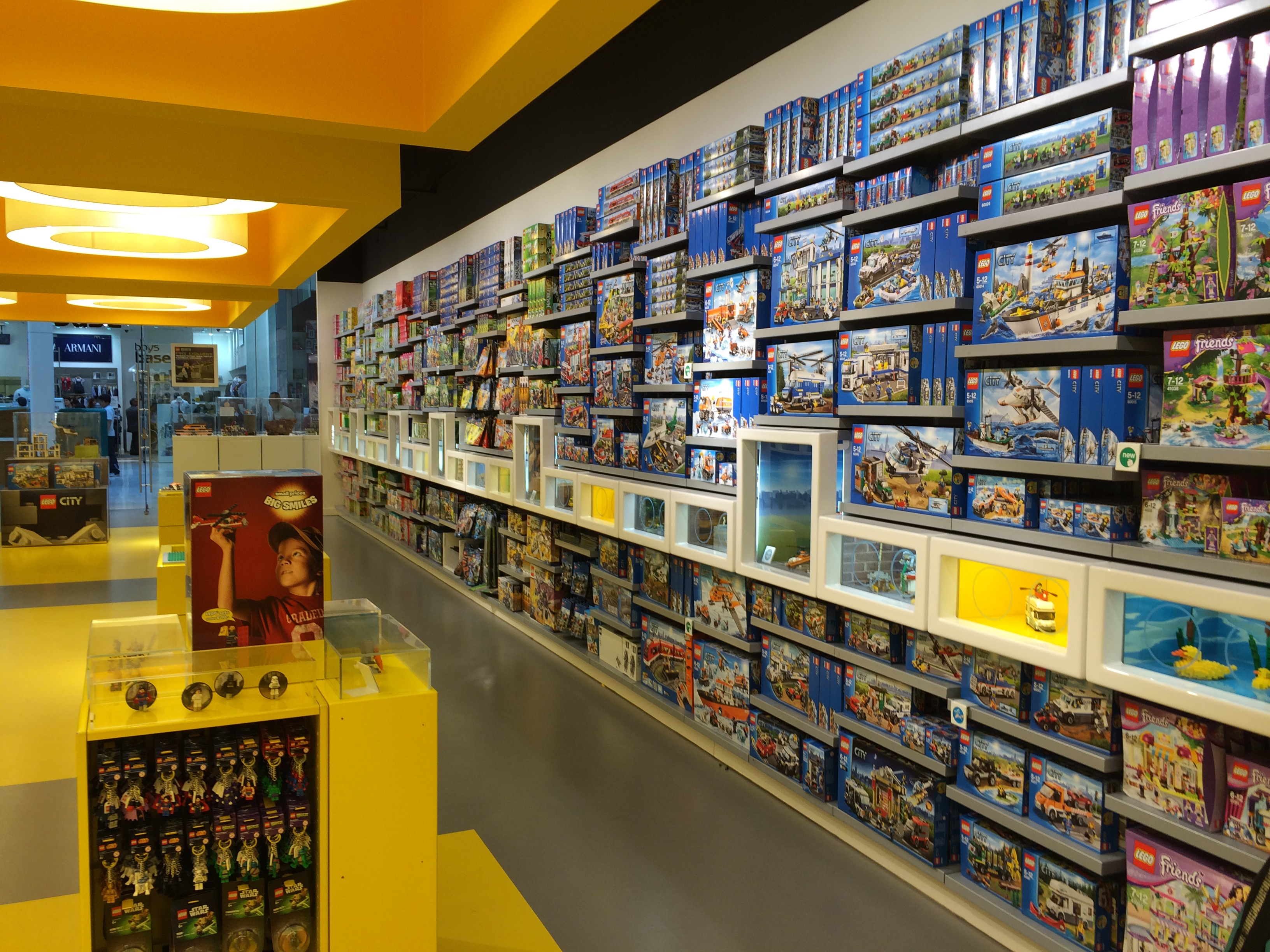 Lego Store London Build Your Own Minifigure