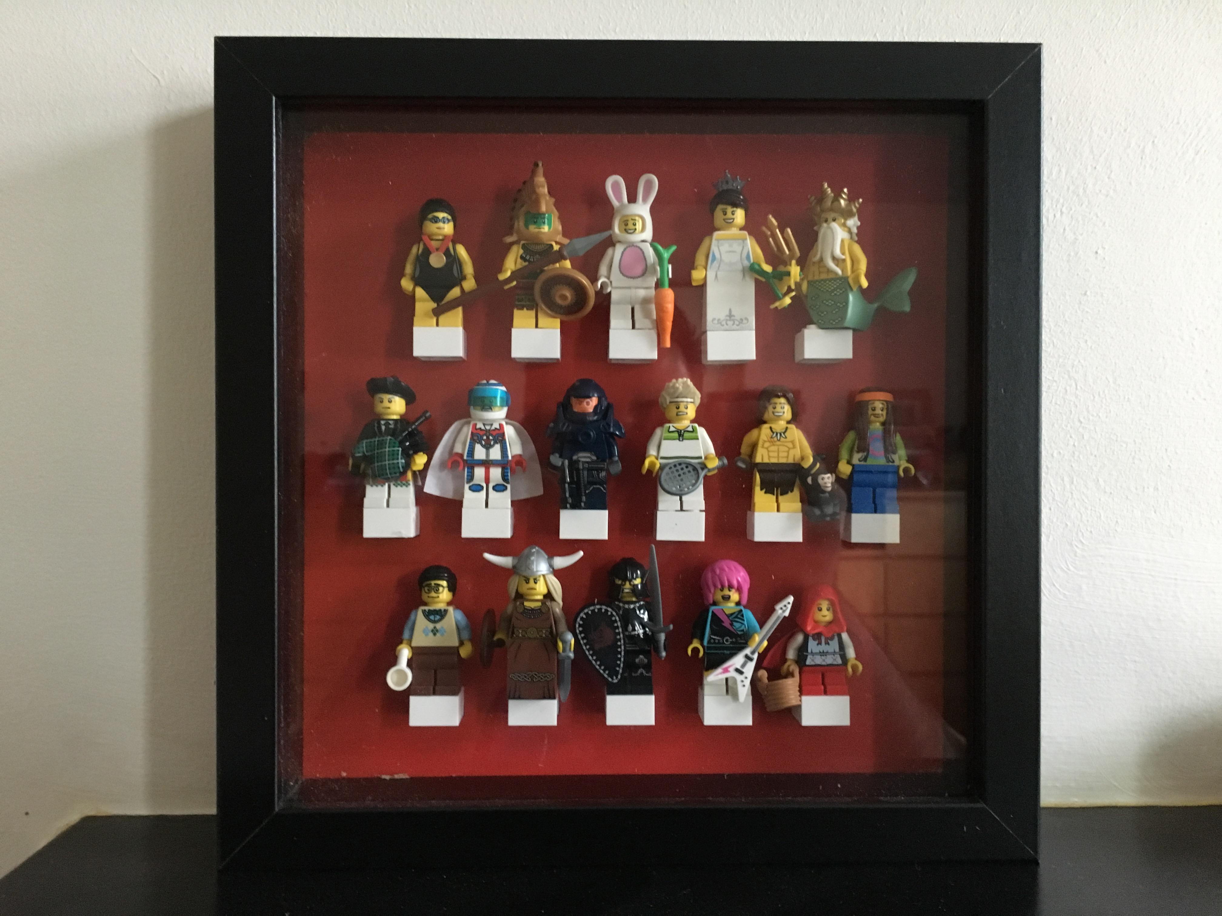Fatherhood: How-to - Make a Lego Minifigure Storage Display for ...