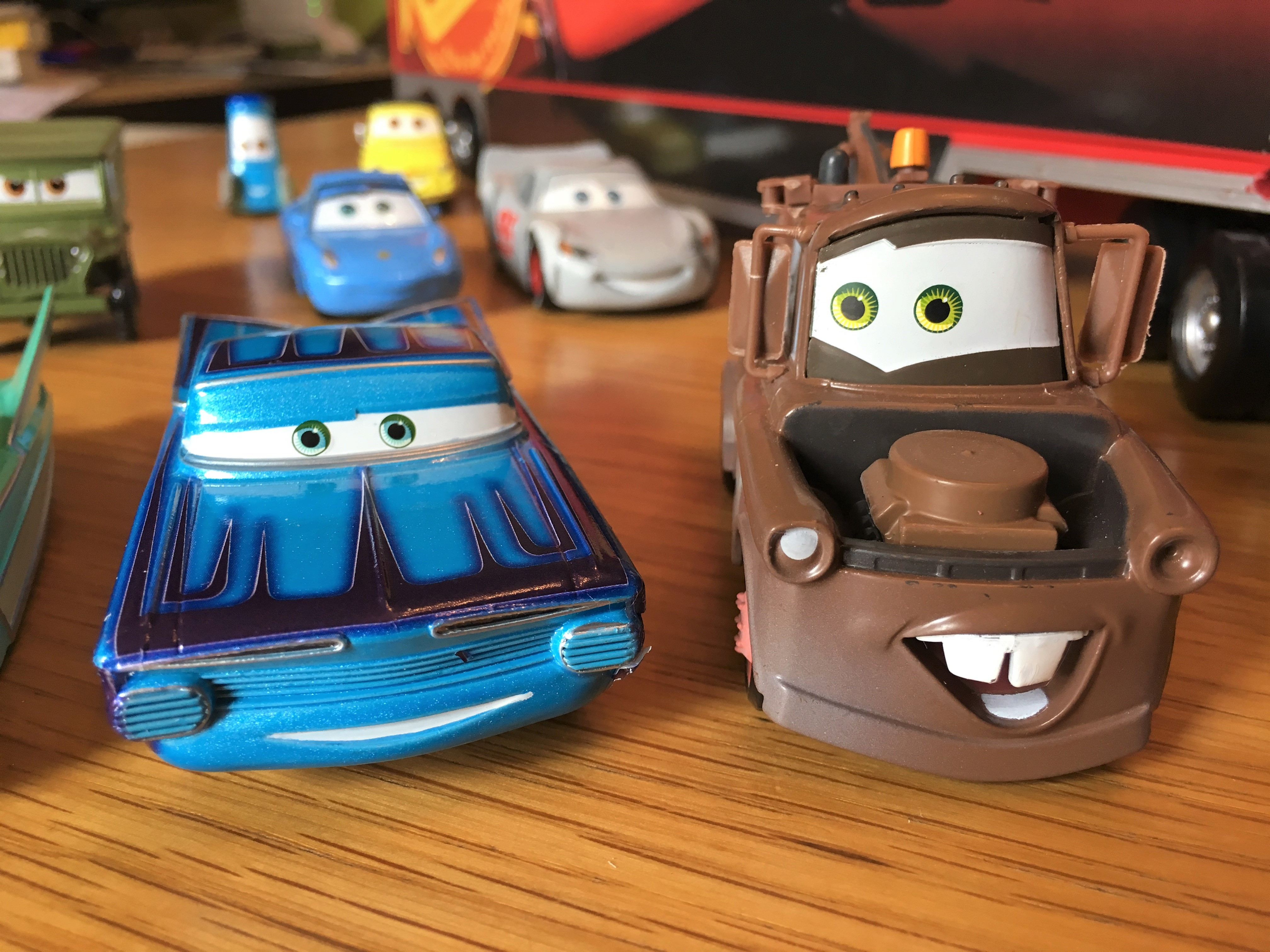 Review - Disney Store & Cars 3 | The Mediocre Dad
